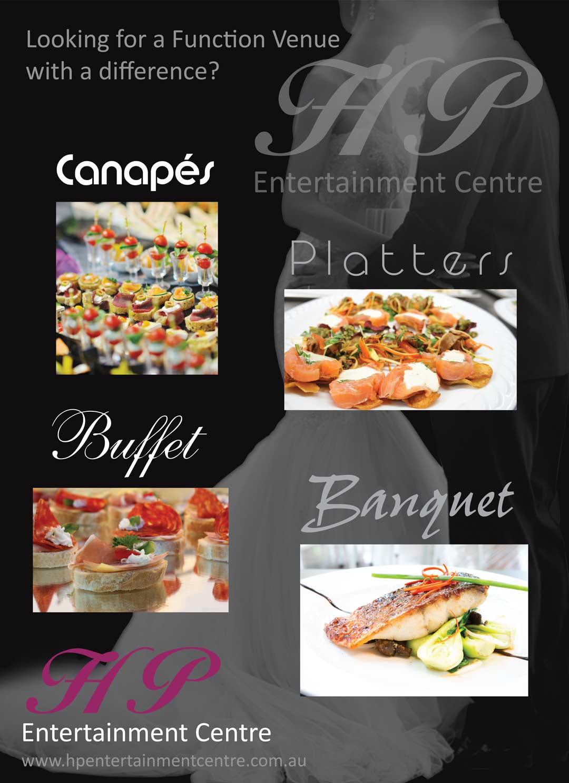 nv design brisbane banquet poster