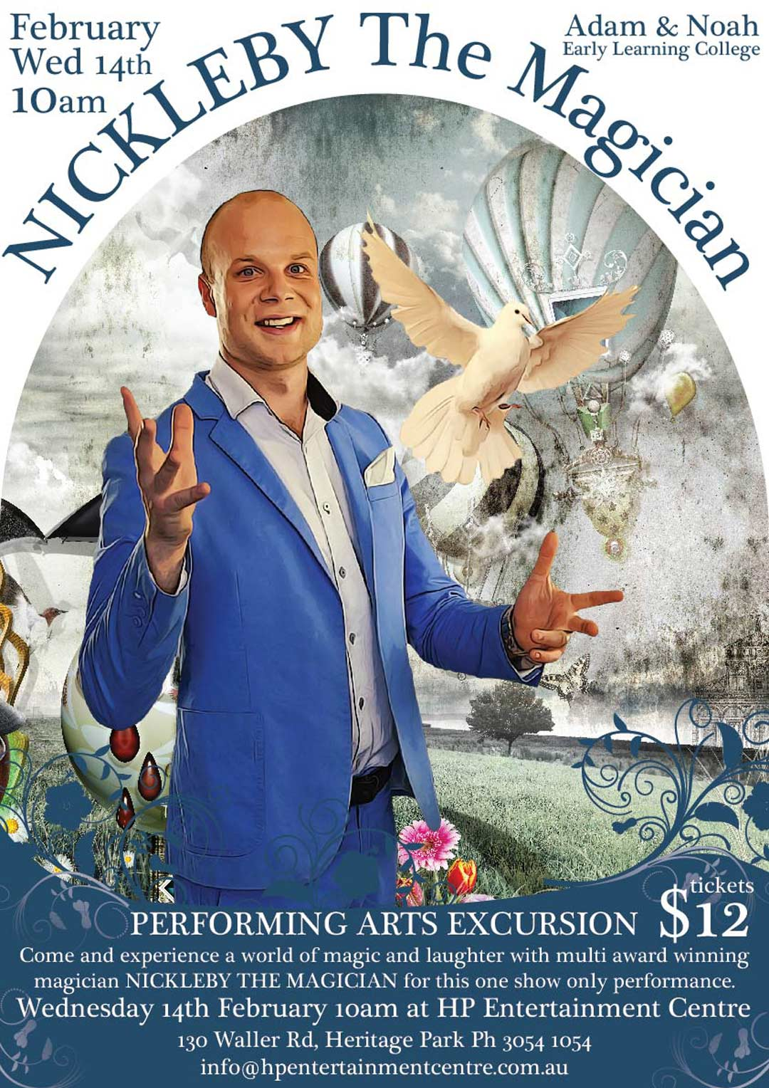 nv design brisbane magicin poster